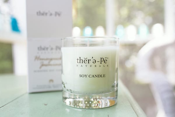 therapy candle 600