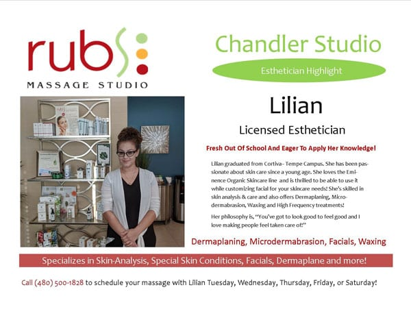 massage chandler therapist - lilian