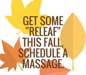 oro valley massage fall